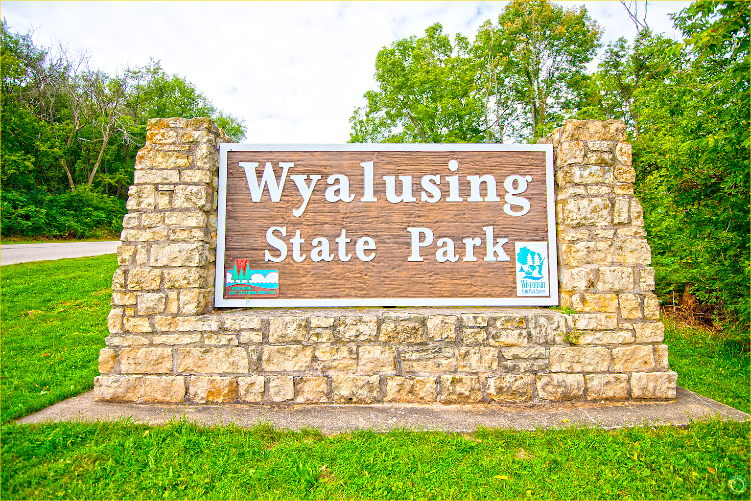 1 Wyalusing State Park Wisconsin Entrance Sign