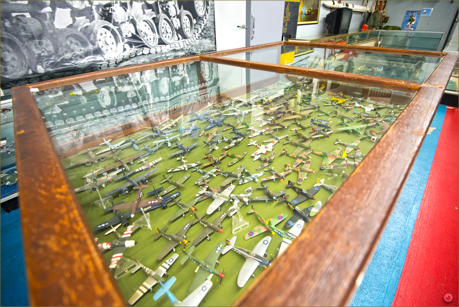 107 Rusell Military Museum Model Airplanes 2