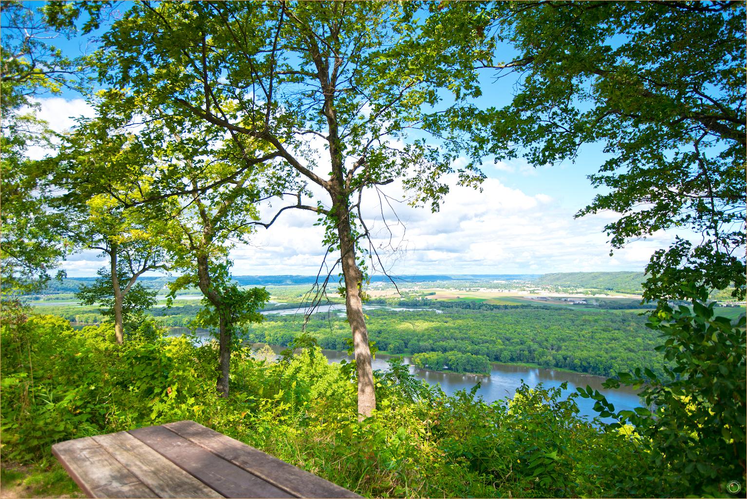 107 Wyalusing State Park Wisconsin Ridge