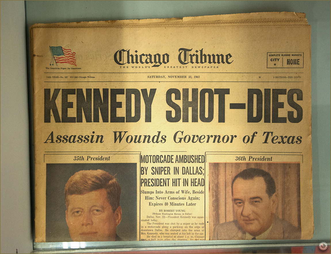 120 Russell Military Museum Kennedy Newspaper