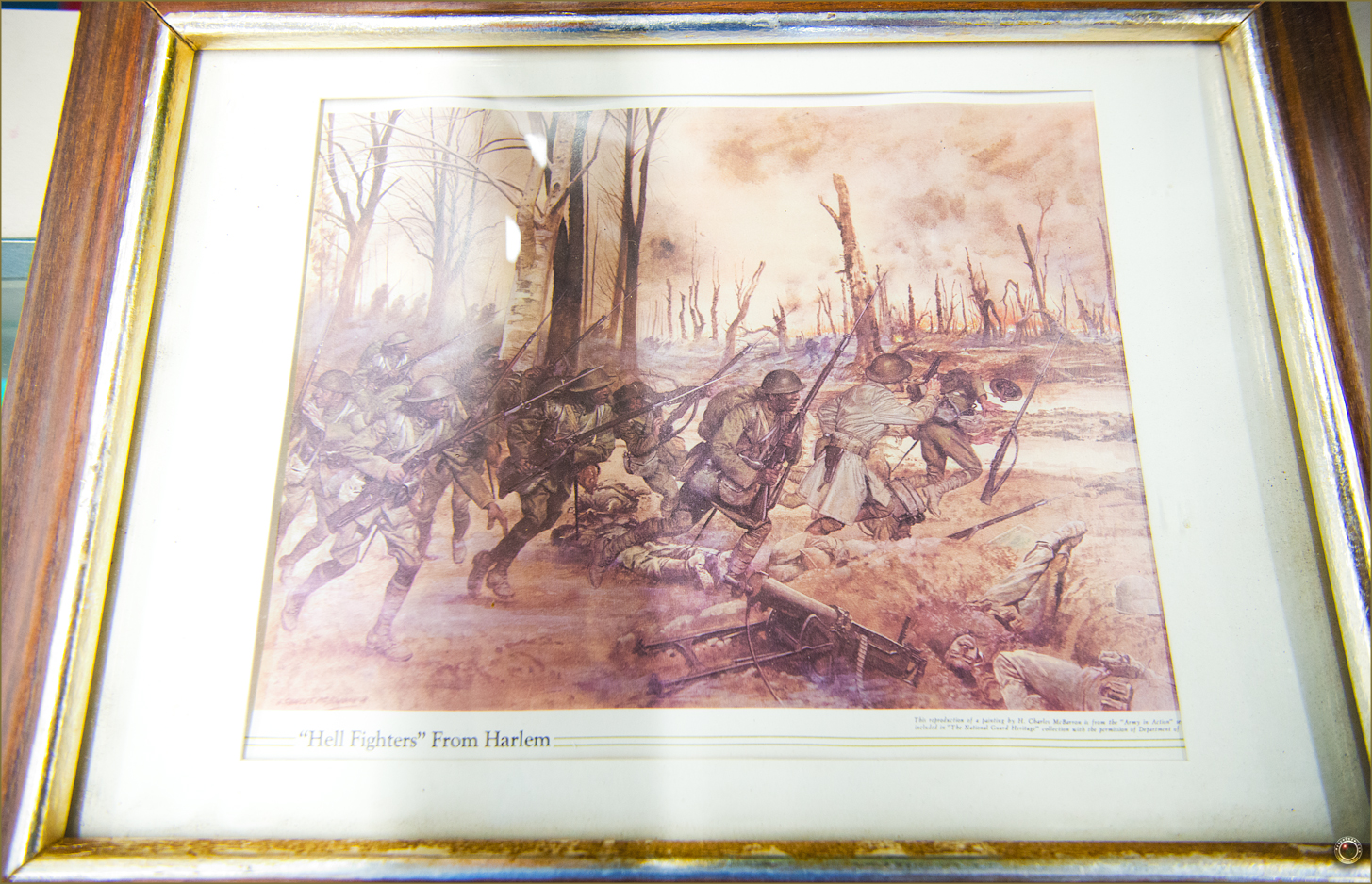 123 Russell Military Museum Buffalo Soldiers Army in Action H. Charles McBarron