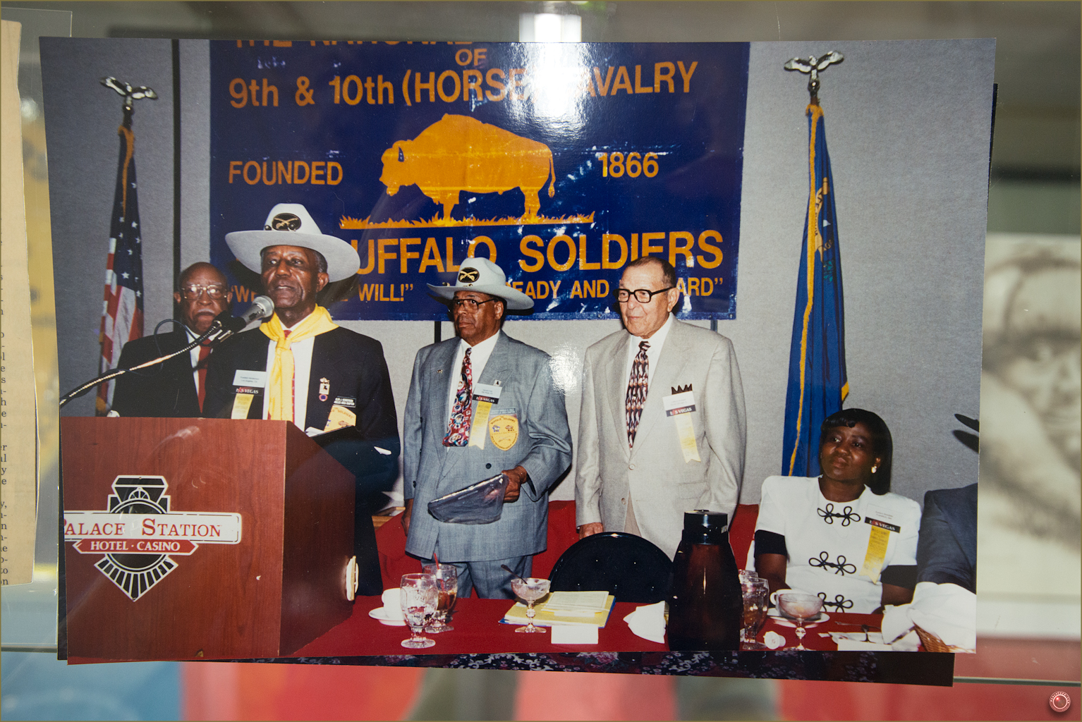 124 Russell Military Museum Buffalo Soldiers Modern Day Meeting