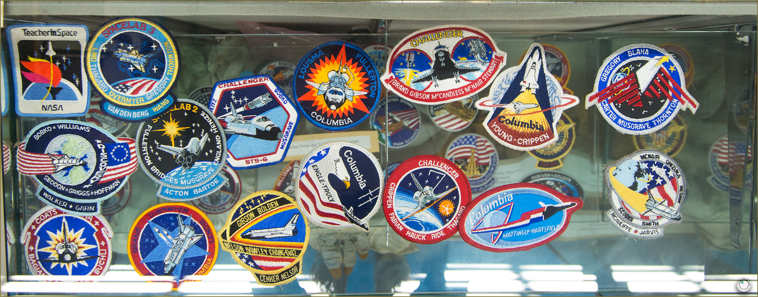 127 Russell Military Museum Nasa Patches Collection