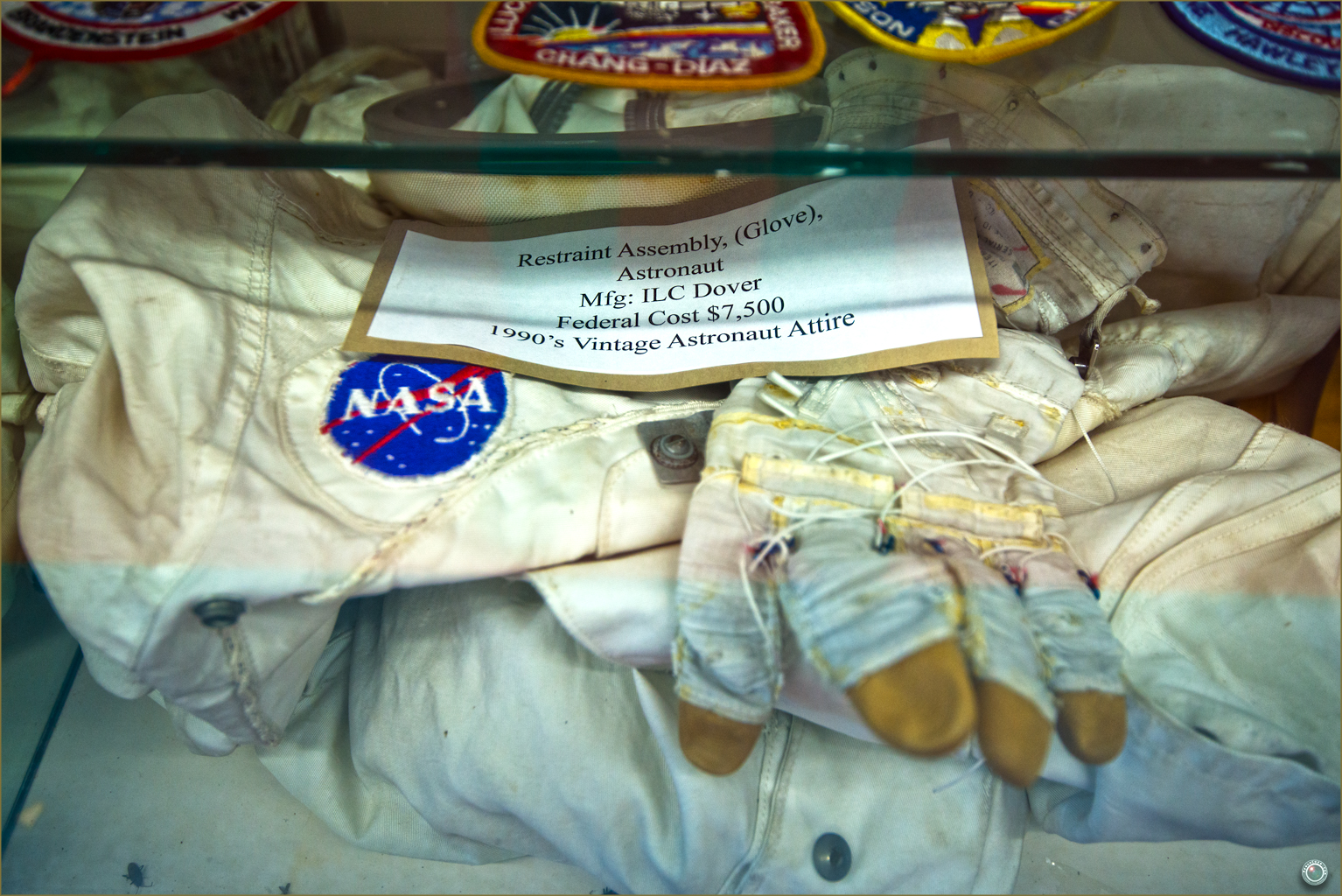 128 Russell Military Museum Nasa Vintage Astronaut Uniform