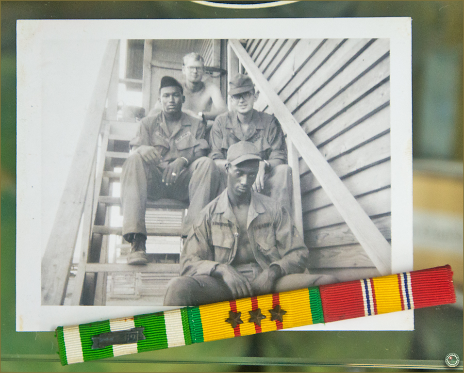 137 Russell Military Museum US Soldier Personal Photograph Vietnam War