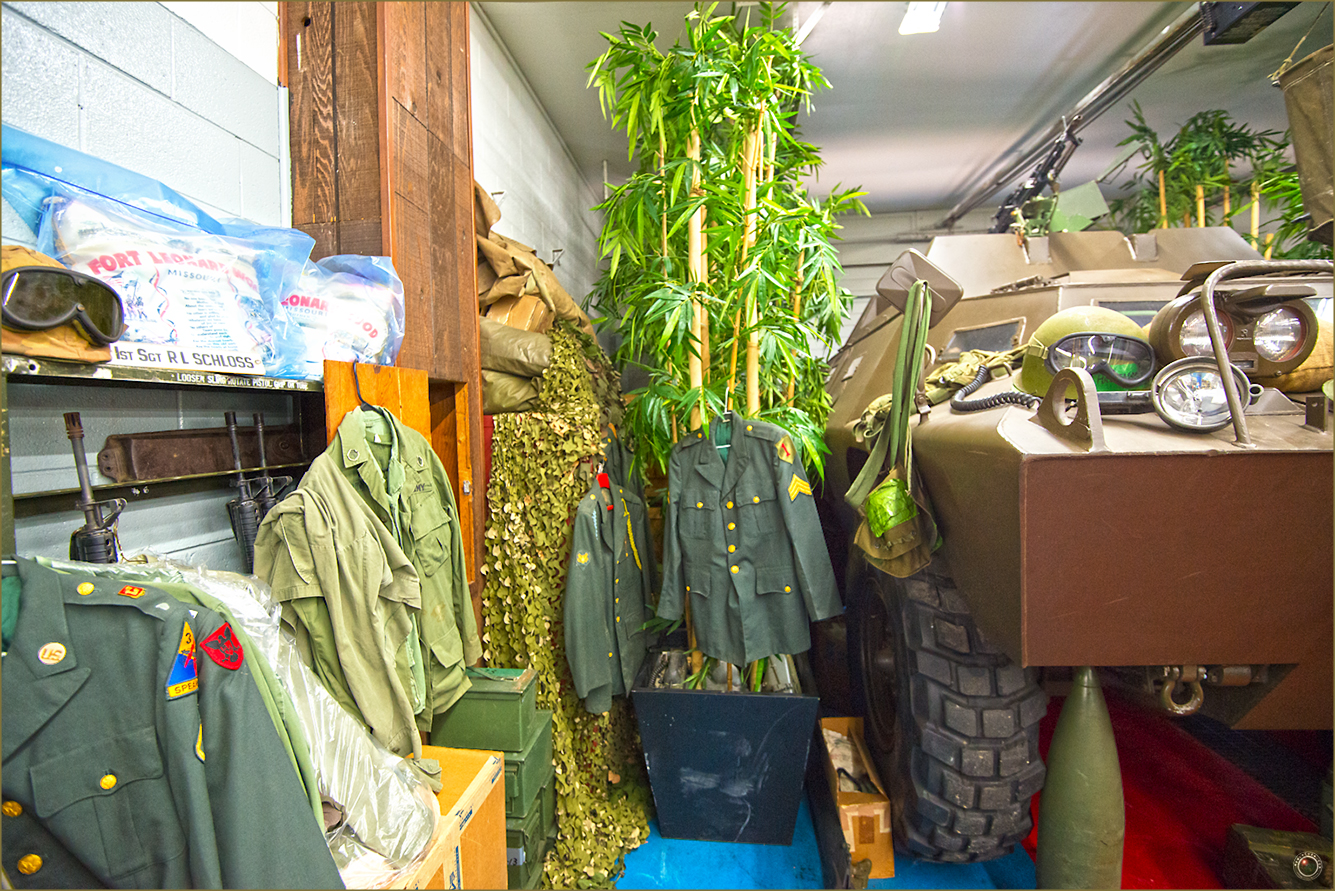 139 Russell Military Museum Indoor Uniform Section