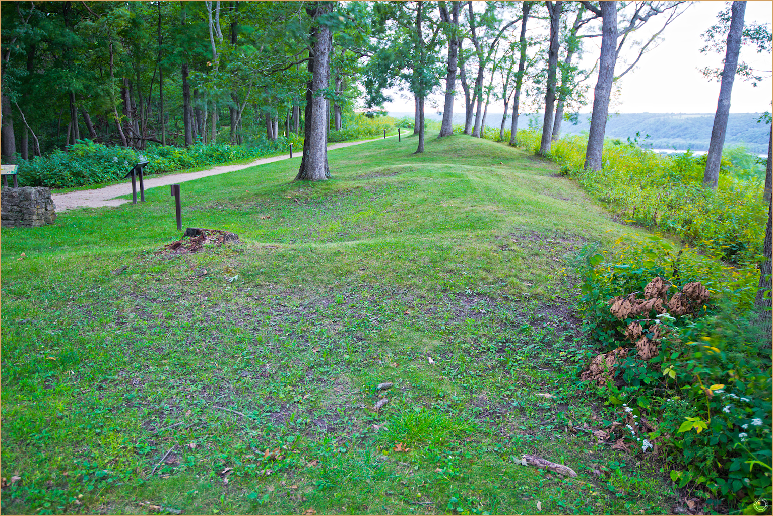 174 Wyalusing State Park Bear Effigy Mound