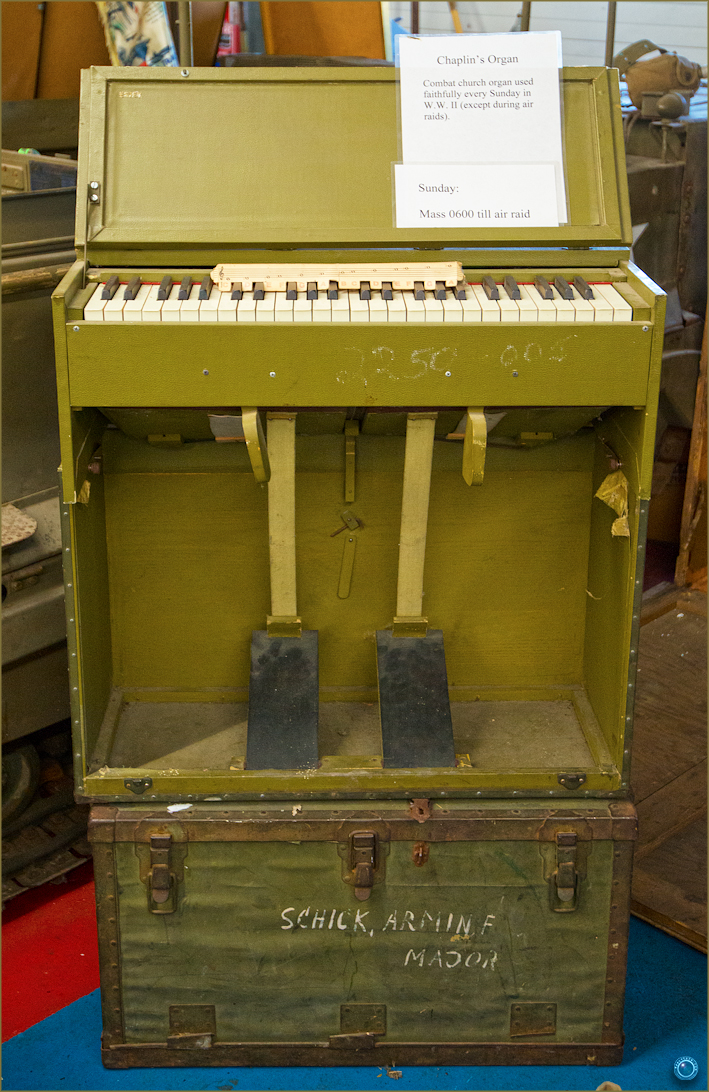 19 Russell Military Museum WW II Chaplain's Organ