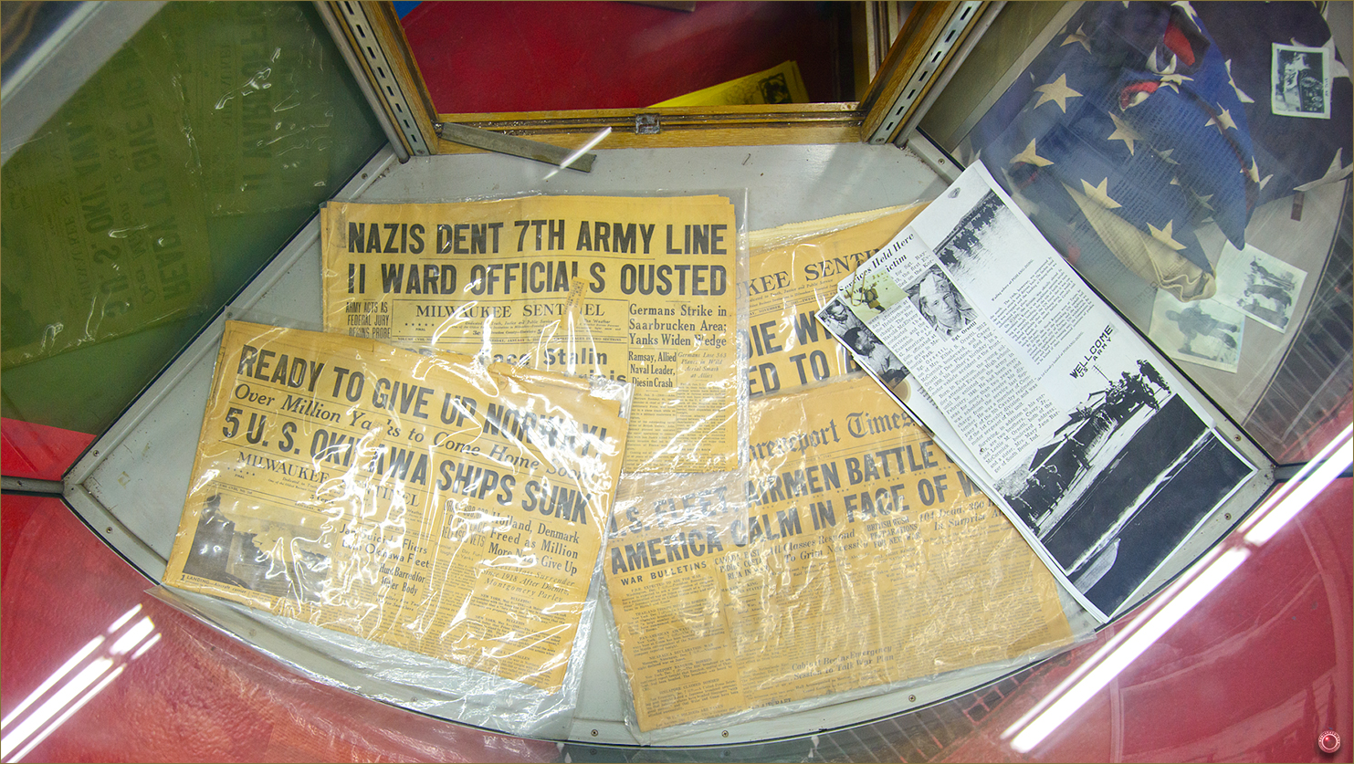 21 Russell Military Museum World War II Newspaper Cover
