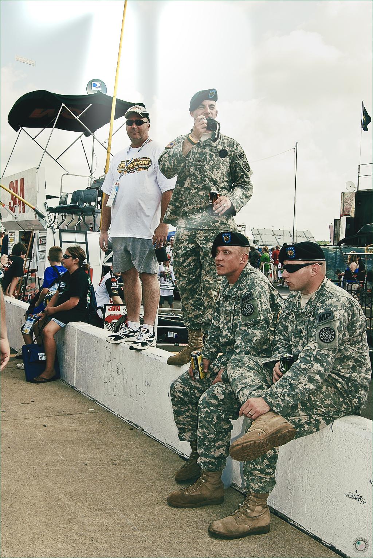 25 Nascar Military Fans