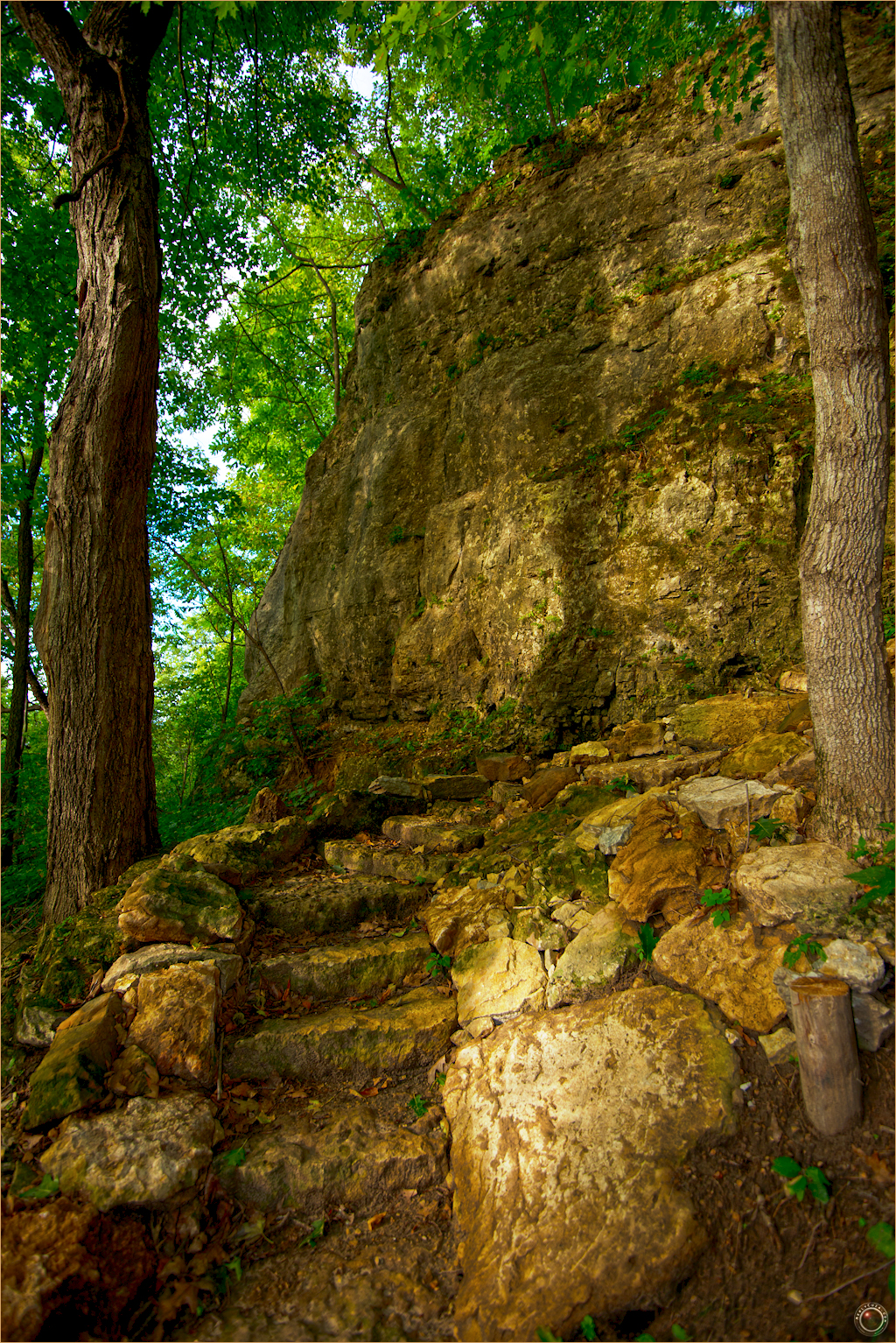 35 Wyalusing State Park Stone Stairs