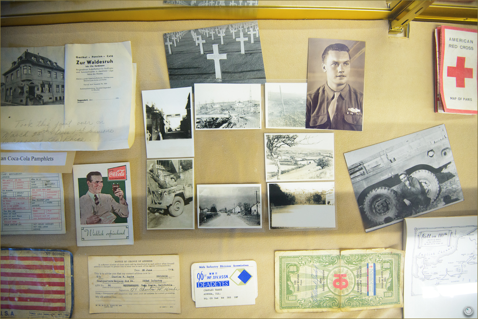 39 Russell Military Museum WW II Soldier Personal War Photos