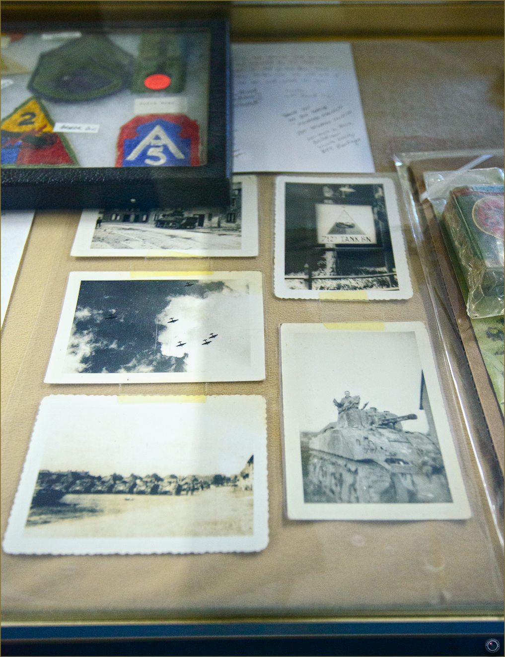 47 Russell Military Museum WW II Personal Soldier Photos
