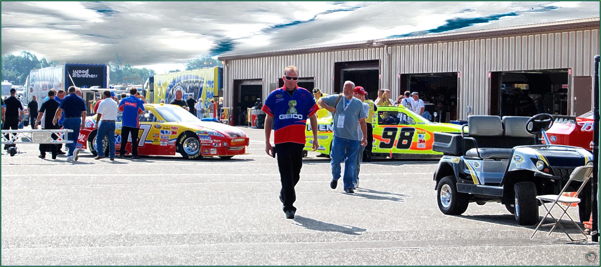 54 Nascar Garage Man