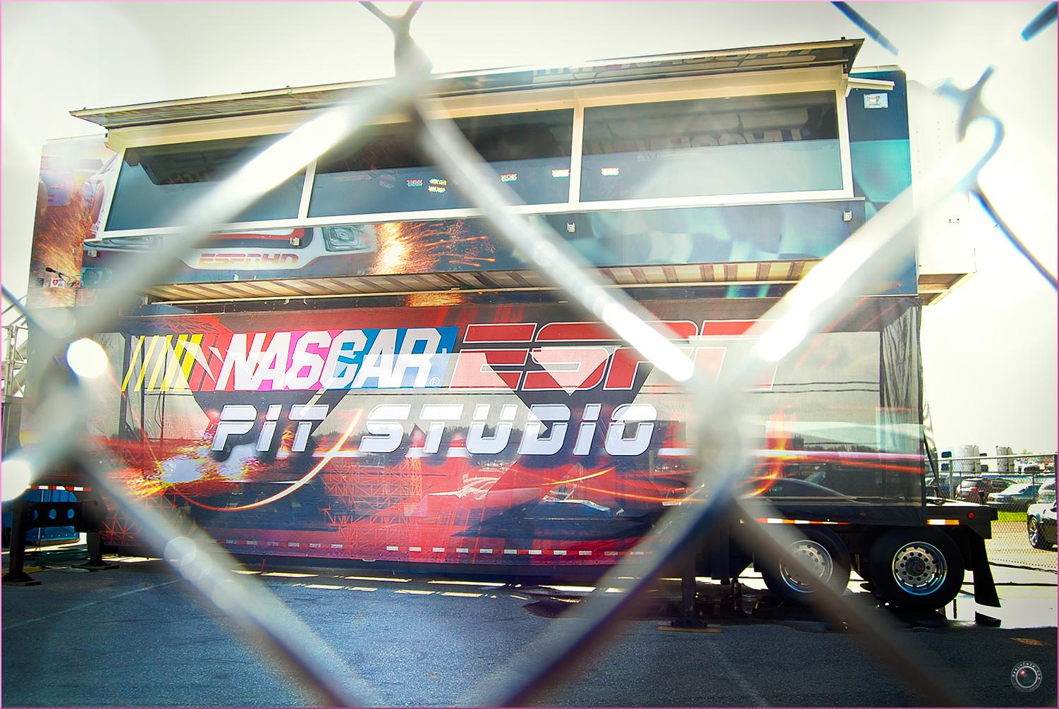 58 Nascar Pit Studio at Track