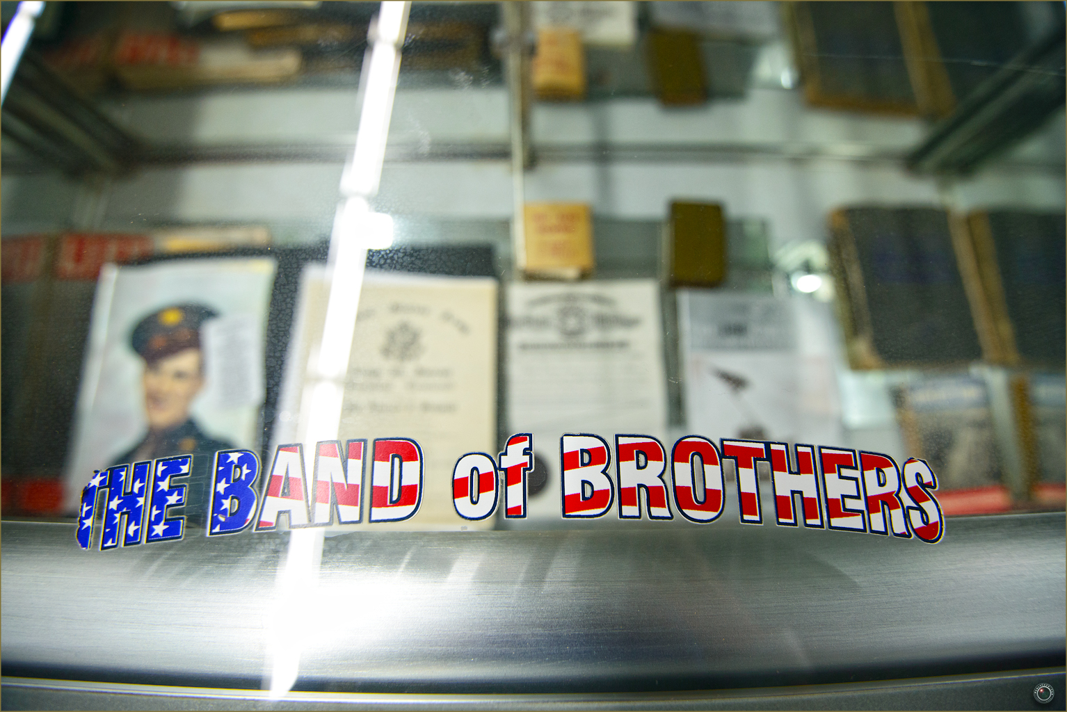 61 Russell Military Museum The Band of Brothers Sticker