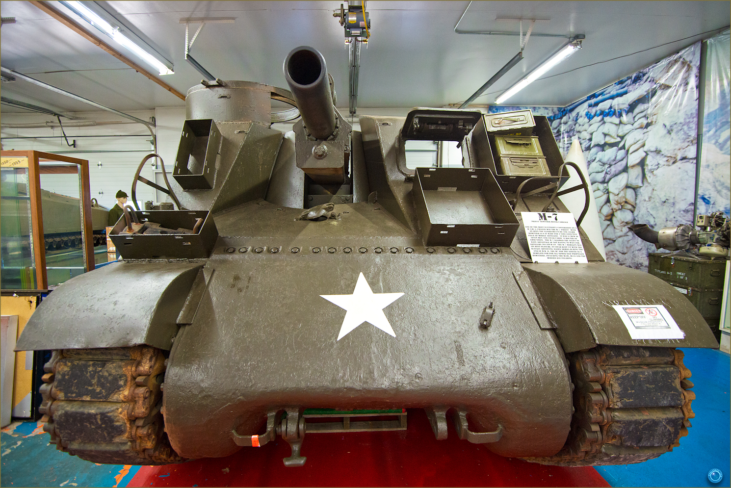72 Russell Military Museum M-7 Tank