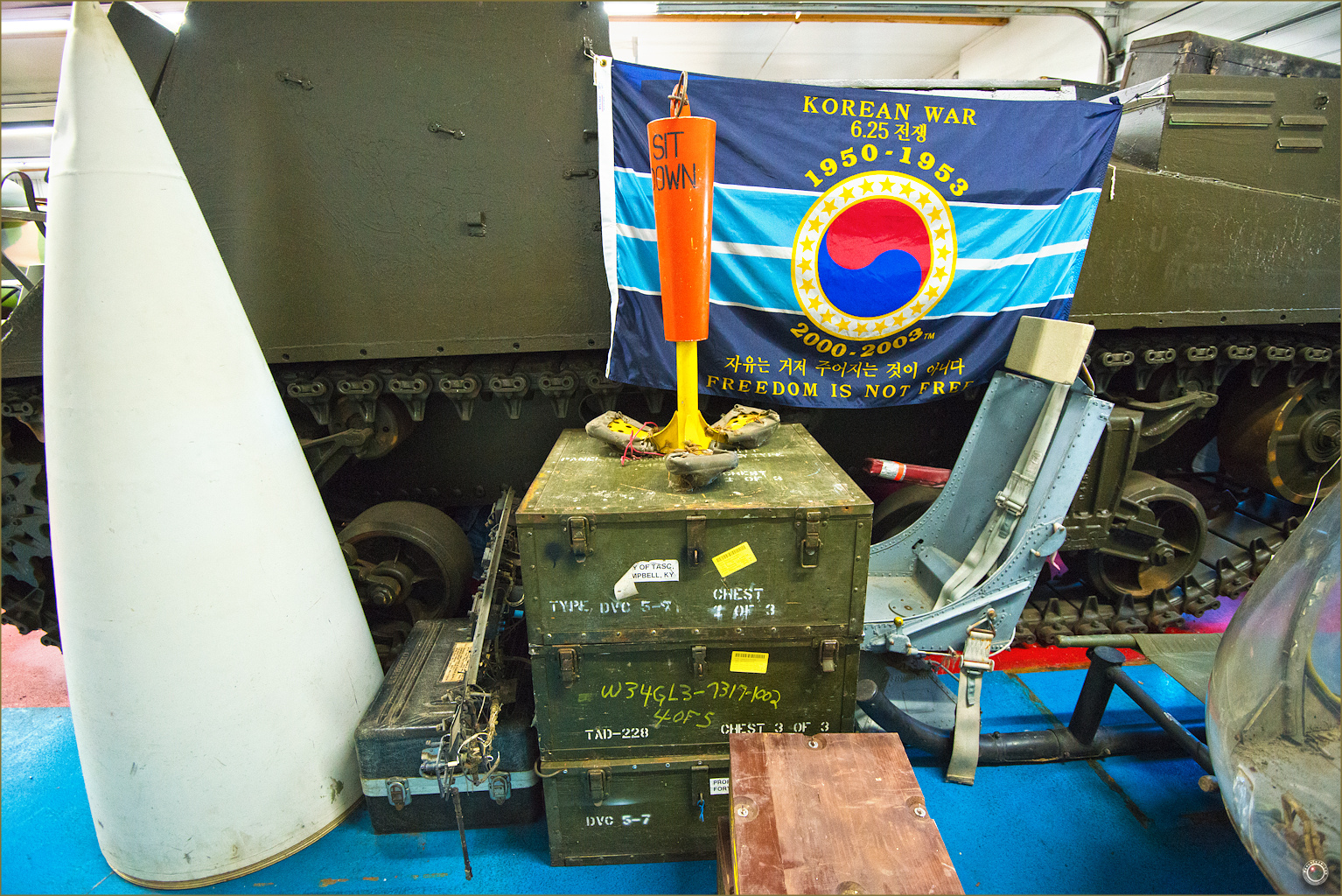 79 Russell Military Museum Korean War Memorabilia