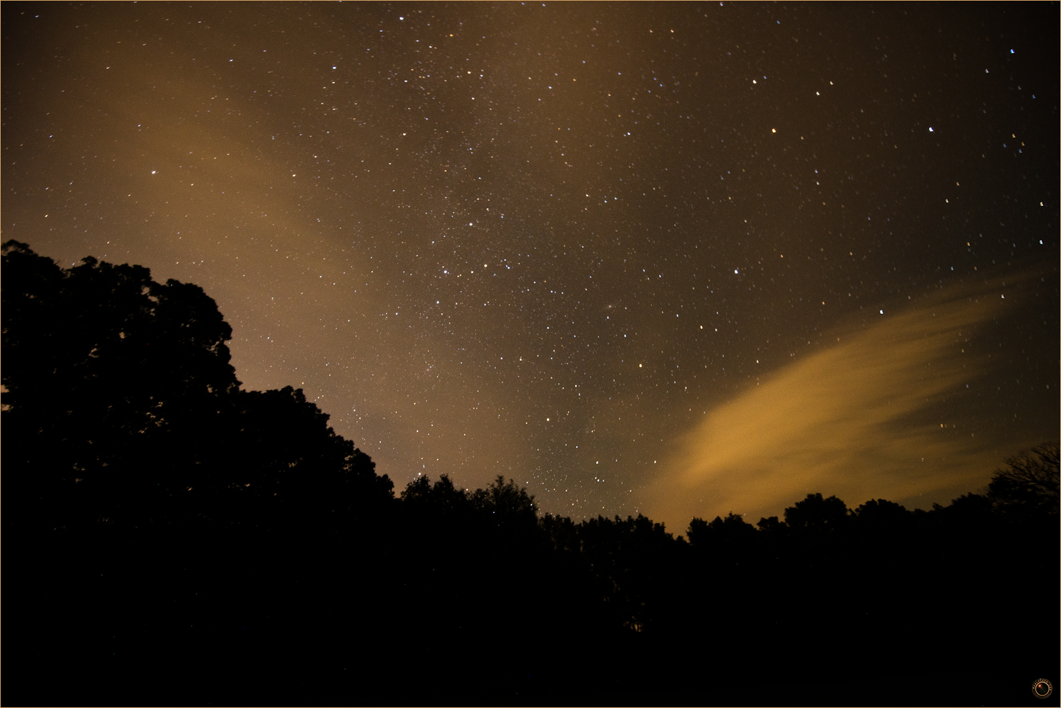 94 Wyalusing State Park Night Sky Clouds