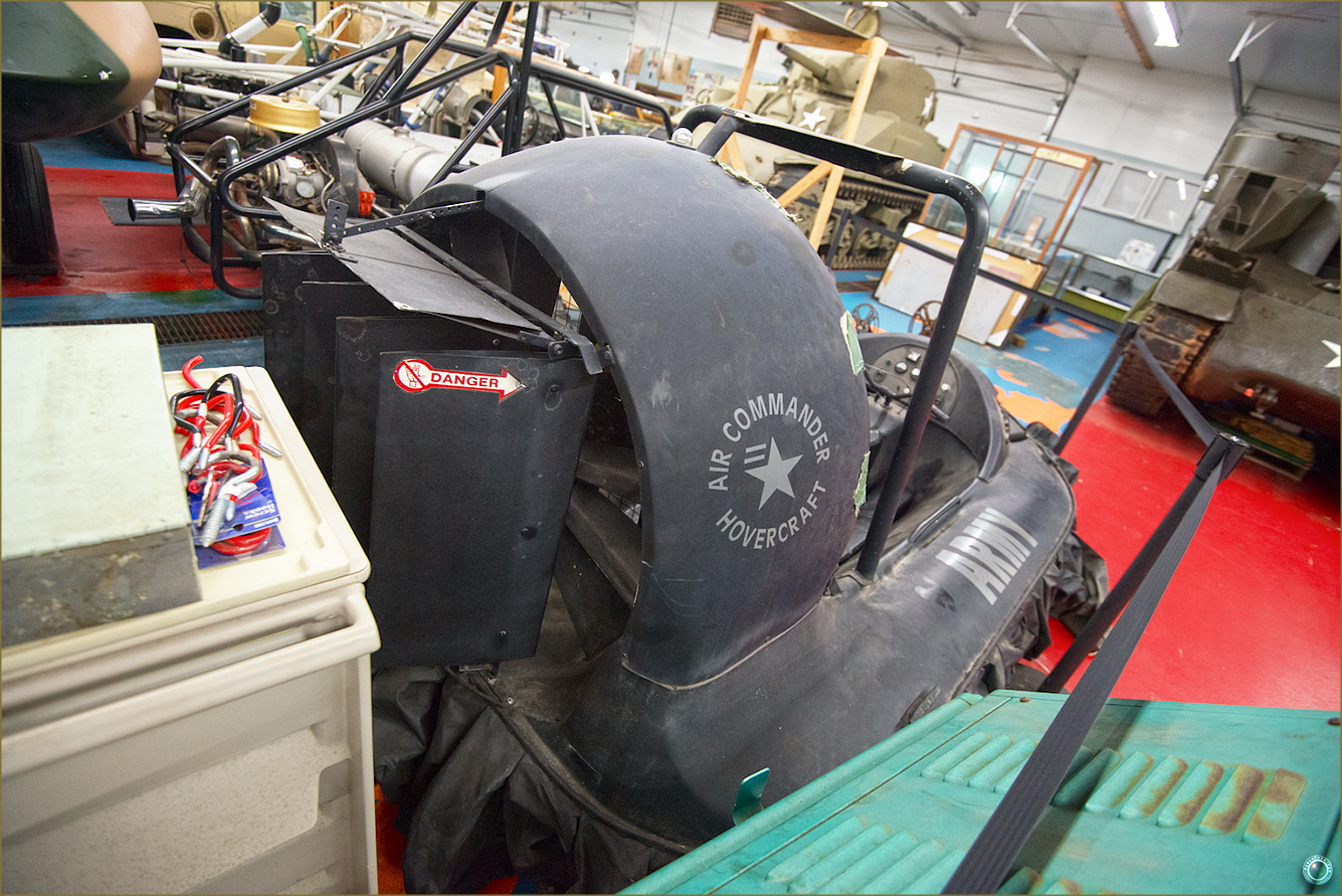 96 Russell Military Museum Antique Air Commander Hovercraft 2
