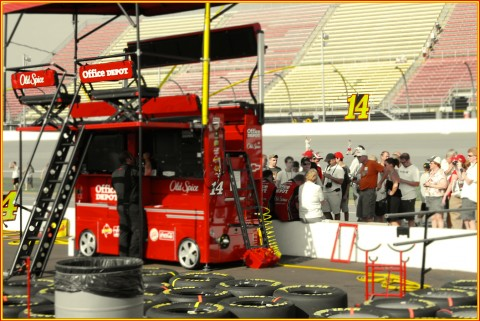 Pit Pass access varies by track. Michigan International Speedway. Brooklyn, Michigan. August 2010. Please click on photo to expand.